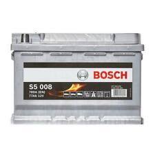 S5 096 Car Battery 5 Years Warranty 77Ah 780cca 12V Electrical - Bosch S5008