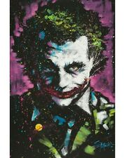 JOKER - FISHWICK ART POSTER - 24x36 DC COMICS BATMAN 51687