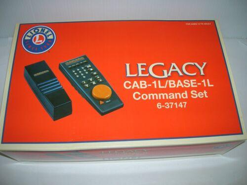 Lionel # 6-37147  LEGACY CAB-1//BASE-1L CAMMAND SET lot # 12256 list $249.99