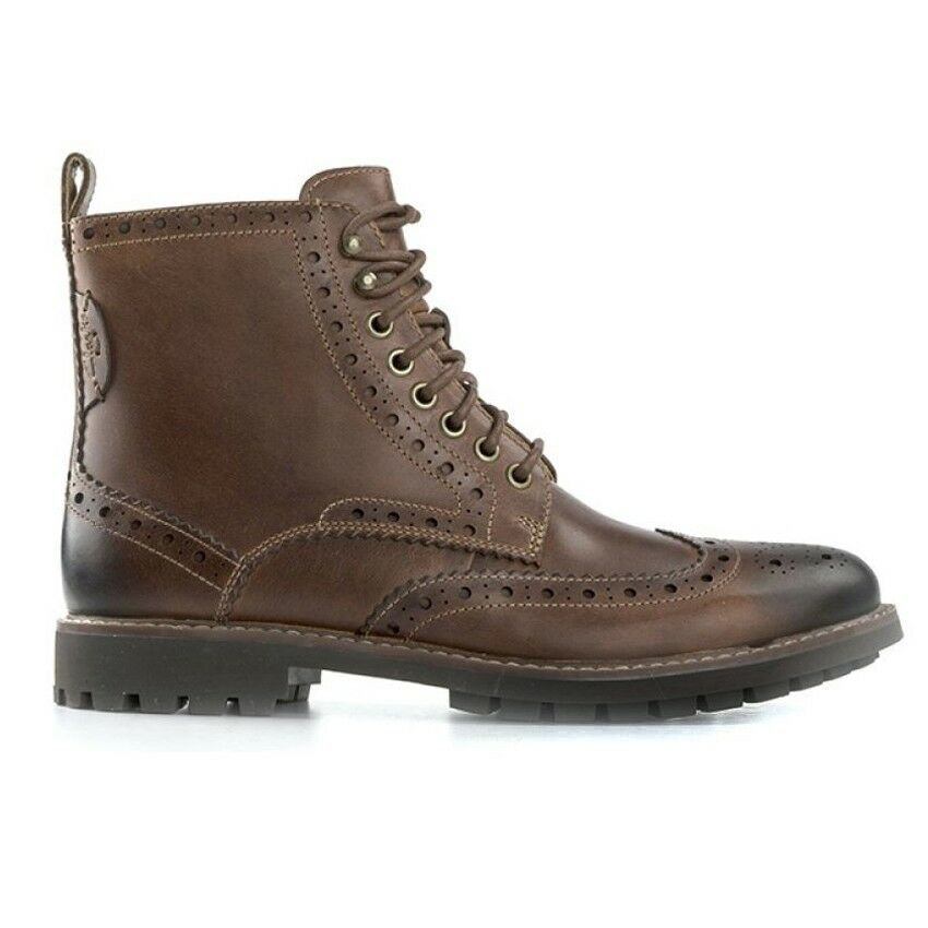 Clarks MONTACUTE LORD MID CUOIO Cuoio mod. DUILIO