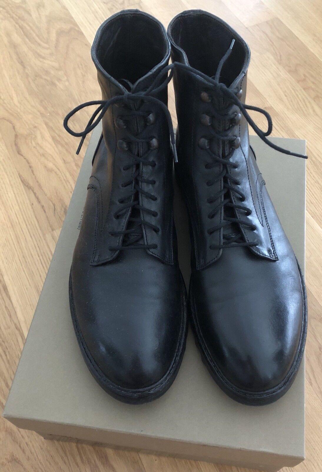 huge discount 08c30 092df Shoto Herren Echtleder Schuhe/Boots/Stiefel-44 (29.5 Italy ...