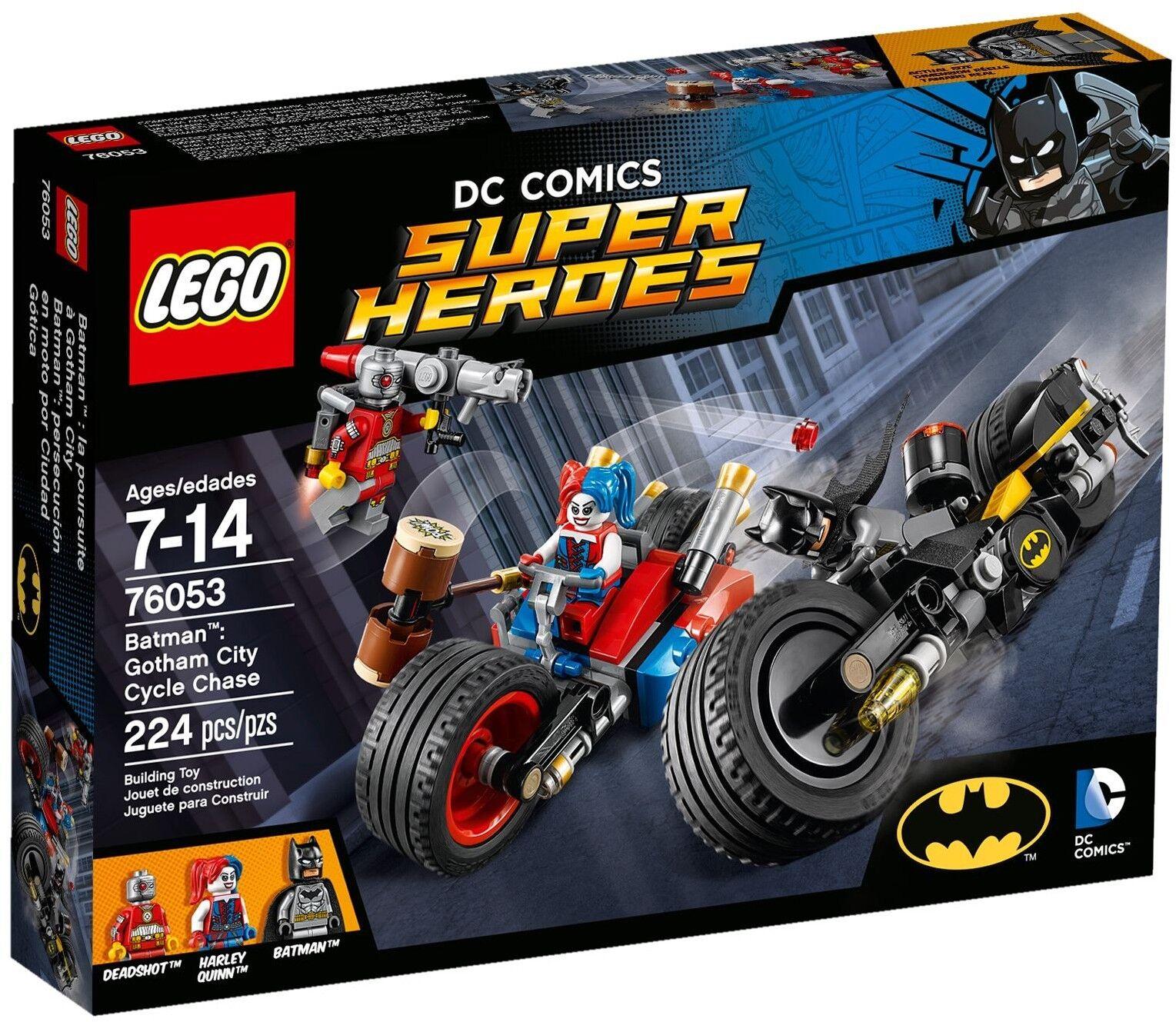 LEGO DC Super Heroes - 76053 Batcycle-Verfolgungsjagd in Gotham City - Neu & OVP
