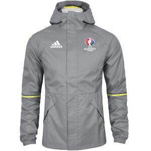 Adidas Rain Jacket Hommes Pluie Veste Football Vent Windbreaker étanche-afficher Le Titre D'origine