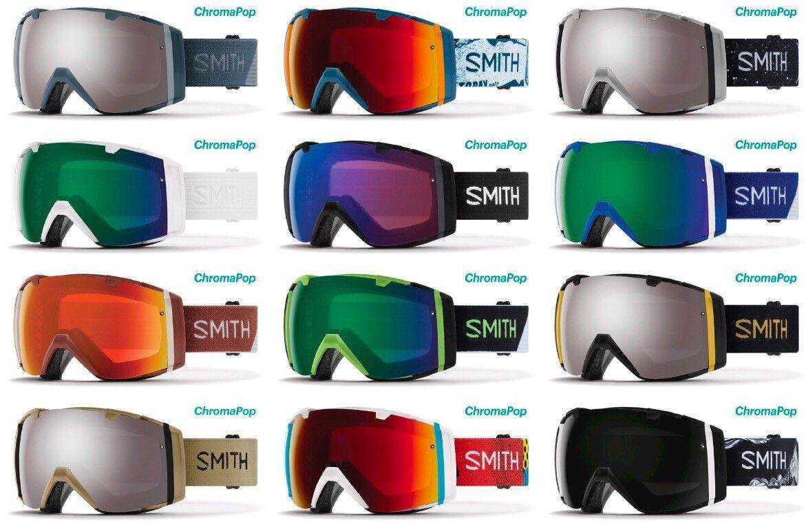 SMITH OPTICS I O SKI SNOWBOARDBRILLE CHROMAPOP NEU