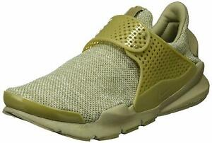 buy popular de252 7976e Details about Nike Sock Dart Breathe Sneakers Men's Olive Slip-On Shoes  Size 9, Worn Once