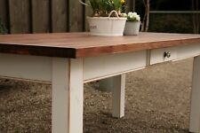 Esstisch Tisch Massivholz Landhaustisch Esszimmer 200 M04 shabby/antik matt Neu