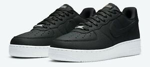 Details about Nike Air Force 1 '07 Craft Black White Vast Grey CN2873-001  Men's Size 9