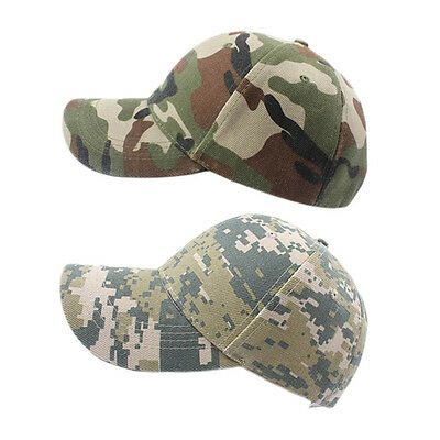 Military Baseball Camouflage Outdoor Tactical Caps Navy Hats Casual Sports F7Q