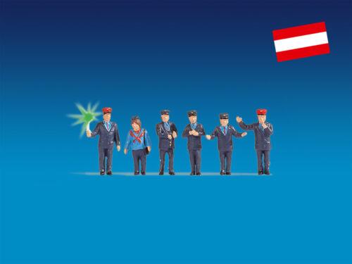 éclairé #neu dans neuf dans sa boîte # Encore 17542 Piste h0 personnages bahnbeamte Autriche