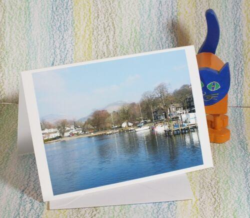 "/""Waterhead Ambleside Windermere Lake District/"" #PeterBrighousePhotography Card"