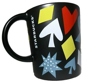 Starbucks Coffee Been There Series Las Vegas Mug 12 FL Oz Black Cup Lucky 777 NV