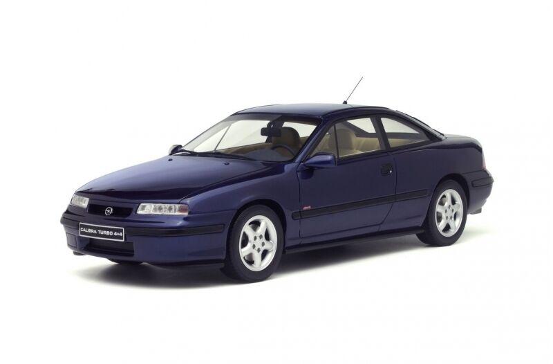 Otto Mobile 689 Opel Calibra Turbo 4 X 4 modelo de resina blu coche de carretera 1996 1 18th
