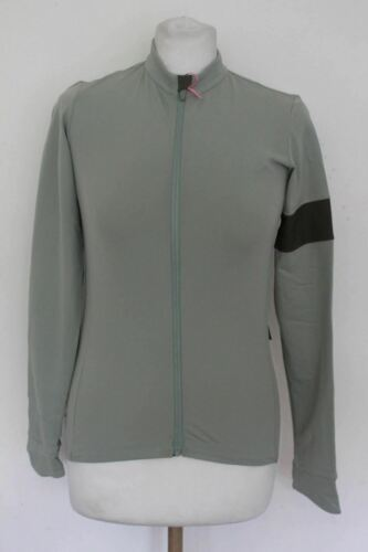 RAPHA Femme Jersey tractability Thermal Jersey zippé Pastel Vert M Bnwt