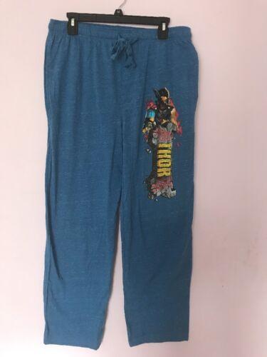 Marvel Avengers  Thor Men/'s Pajama Lounge Pants Medium New