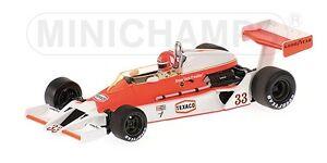 Mclaren Ford M26 B. Giacomelli 1978 Modèle 1:43 Minichamps