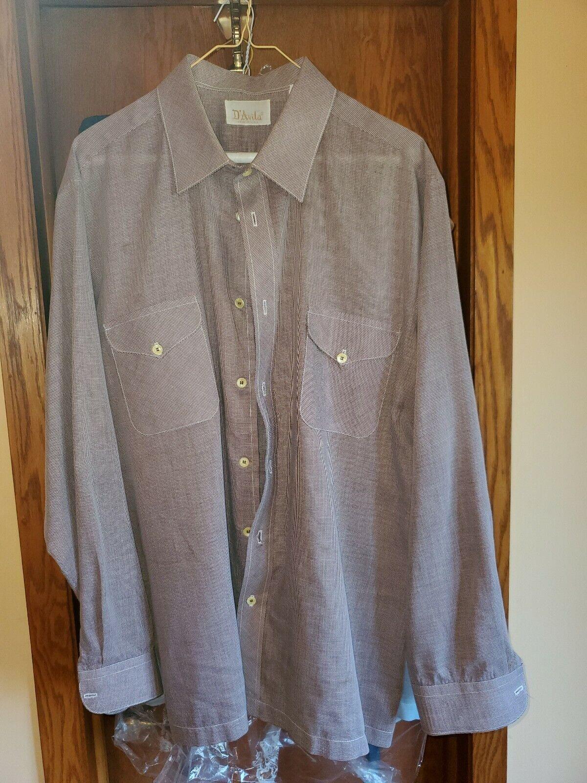 Vintage men's shirt XL 60's/ 70's - image 3