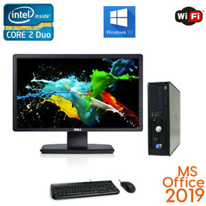 Fast-Dell-Desktop-Computer-PC-Core-2-Duo-1TB-8GB-23-034-WiFi-PC-Win-7-10-MS-OFFICE
