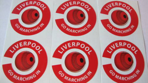 8 THUMB PEG LIVERPOOL 16 CROWN GREEN BOWLS STICKERS LAWN BOWLS 8 FINGER