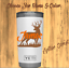 Monogram Decal Sticker For Tumblers,Cups Thermos Deer Hunters  Design /& Name