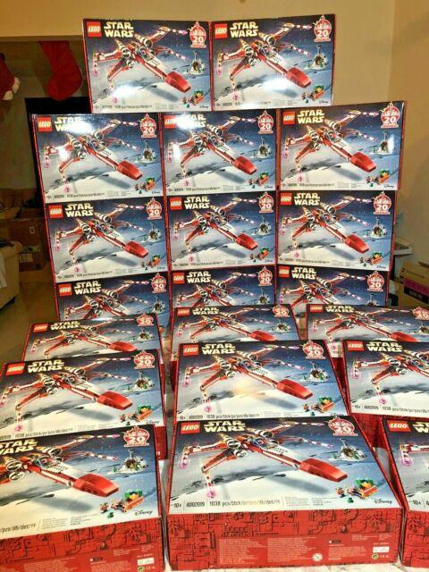 Lego 4002019 Employee Gift 2019 Christmas X-Wing 20th Anniversary Star Wars RARE | eBay