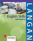 English Skills with Readings by John Langan, Zoe L. Albright (Paperback, 2014)