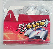8 Boxes Speed Racer Mach 5 Go Go Go Treat Loot Box Party WB Car Gift Birthday
