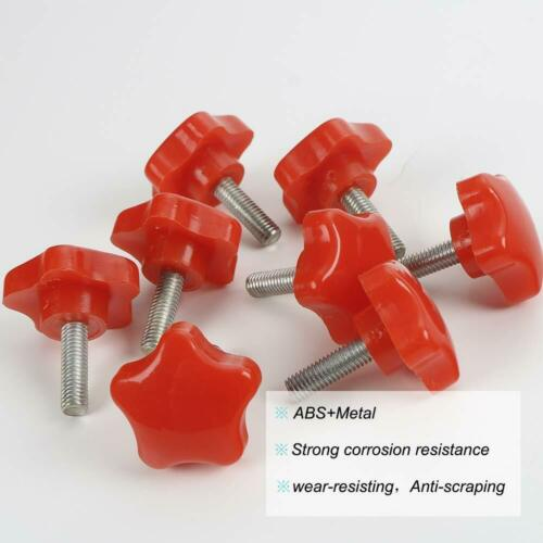 8x Red Hard Roof Screws Quick Removal Bolts Fastener for  07-17 Jeep Wrangler JK