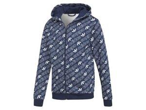 Details zu adidas J TRF M HOODIE Kinder Sweatshirt Kapuzenpullover DH2696