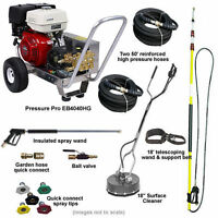 Pressure-pro Deluxe Start Your Own Pressure Washing Business Kit W/ Aluminum ...