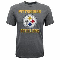 Pittsburgh Steelers Nfl Team Apparel Vintage Youth Short Sleeve Shirt All Sizes
