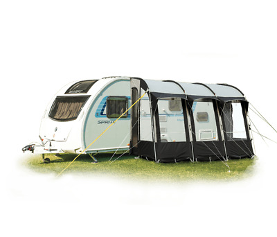 Royal Wessex 390 Lightweight Touring Caravan Porch Awning ...