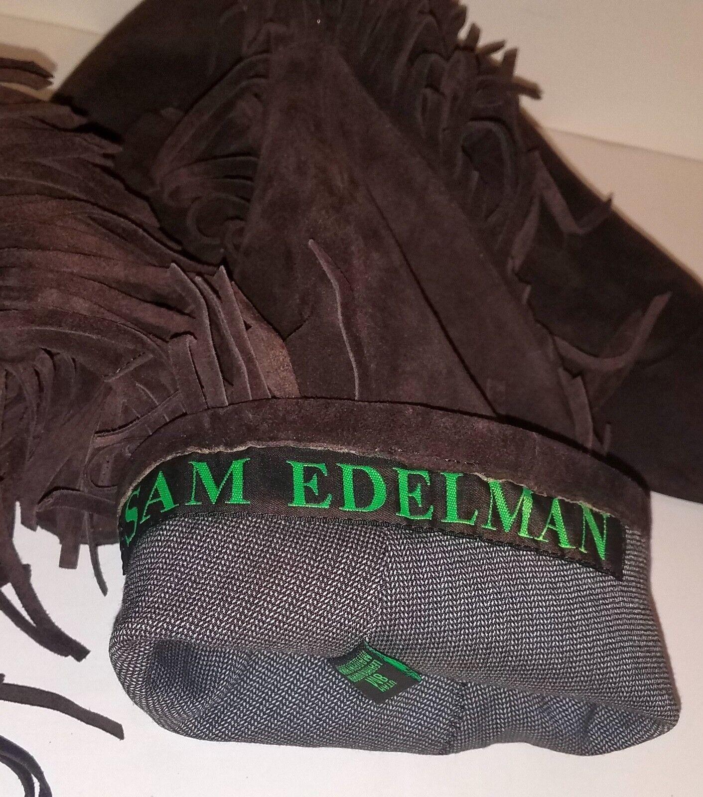 Sam Edelman Brown Suede Tall Flat Heel Boot Women Women's Women's Women's Boots UTAH Size 8 M 6de9d3