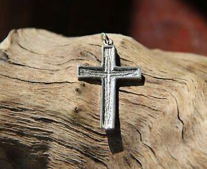 Details zu Kreuz 925 Silber Gott Jesus Bibel Anhänger Amulett Kette katholisch Buddha