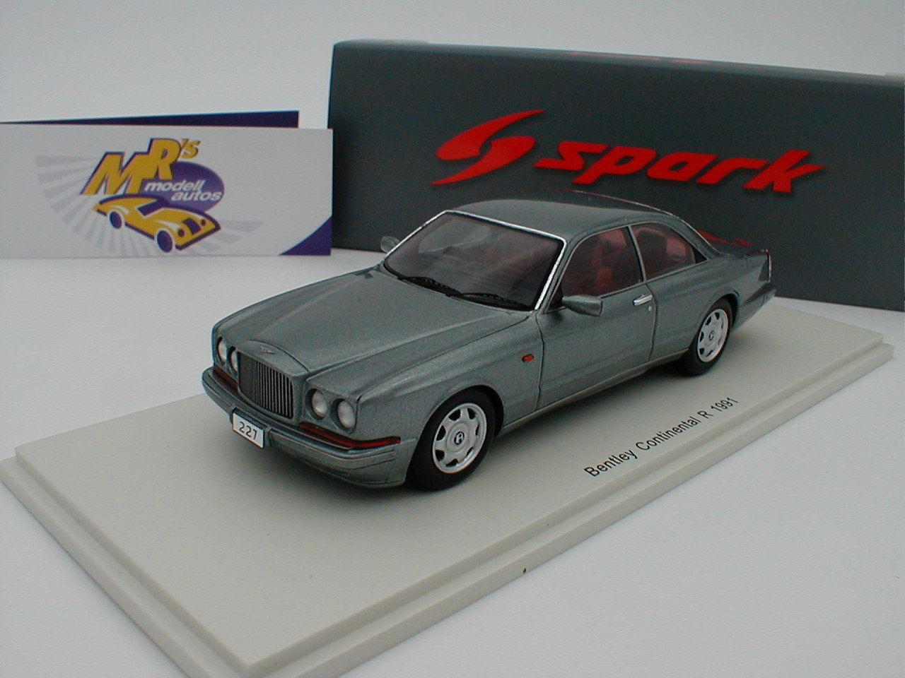 Écrasons l'oeuf d'or avec le pouvoir d'achat groupé. SPARK s4892-Bentley Continental R Limousine année 1991