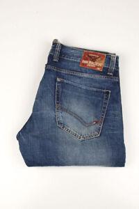 32610 Tommy Hilfiger Rogar Regular Bleu Hommes Jean Taille 34/34