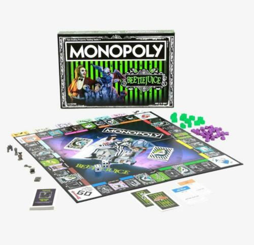 Beetlejuice Edition Monopoly Board Game