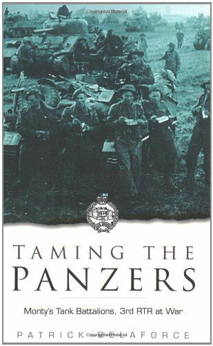 Taming the Panzers: 3 RTR at War, 1914-45 by Delaforce, Patrick Paperback Book