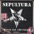 Live in Sao Paulo [PA] by Sepultura (CD, Nov-2005, 2 Discs, SPV)