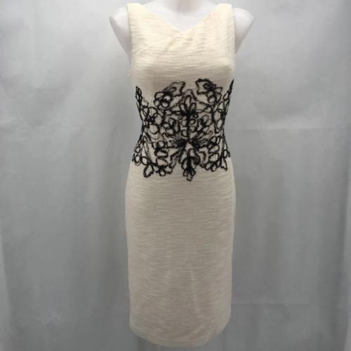 St John White Sleeveless Dress 4