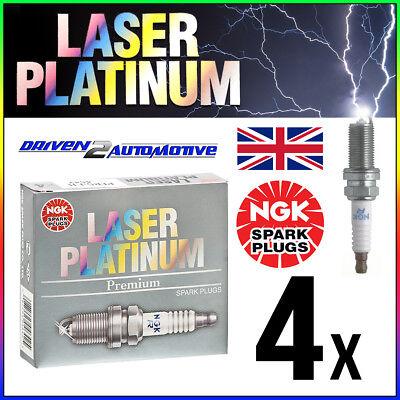 4x NGK PFR6B IRIDIUM IX SPARK PLUGS FIAT PART NUMBER 006056 9957