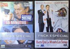 15 MINUTOS - HASTA QUE LA MUERTE LOS SEPARE  2 Dvd's Nuevos Precintados