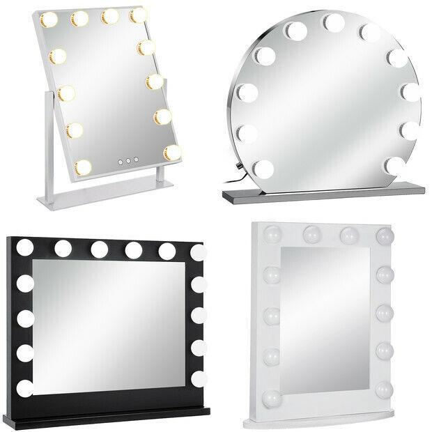 Theaterspiegel Hollywood Spiegel Schminkspiegel Beleuchtung Standspiegel