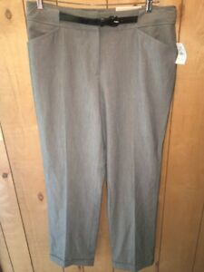 2a746b482ac NWT Cato Contemporary Lower Rise Slim Leg Gray Dress Pants Size 14 ...