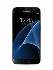 Samsung Galaxy S7 SM-G930U Unlocked 32GB Black Onyx Smartphone - US Model 4G LTE