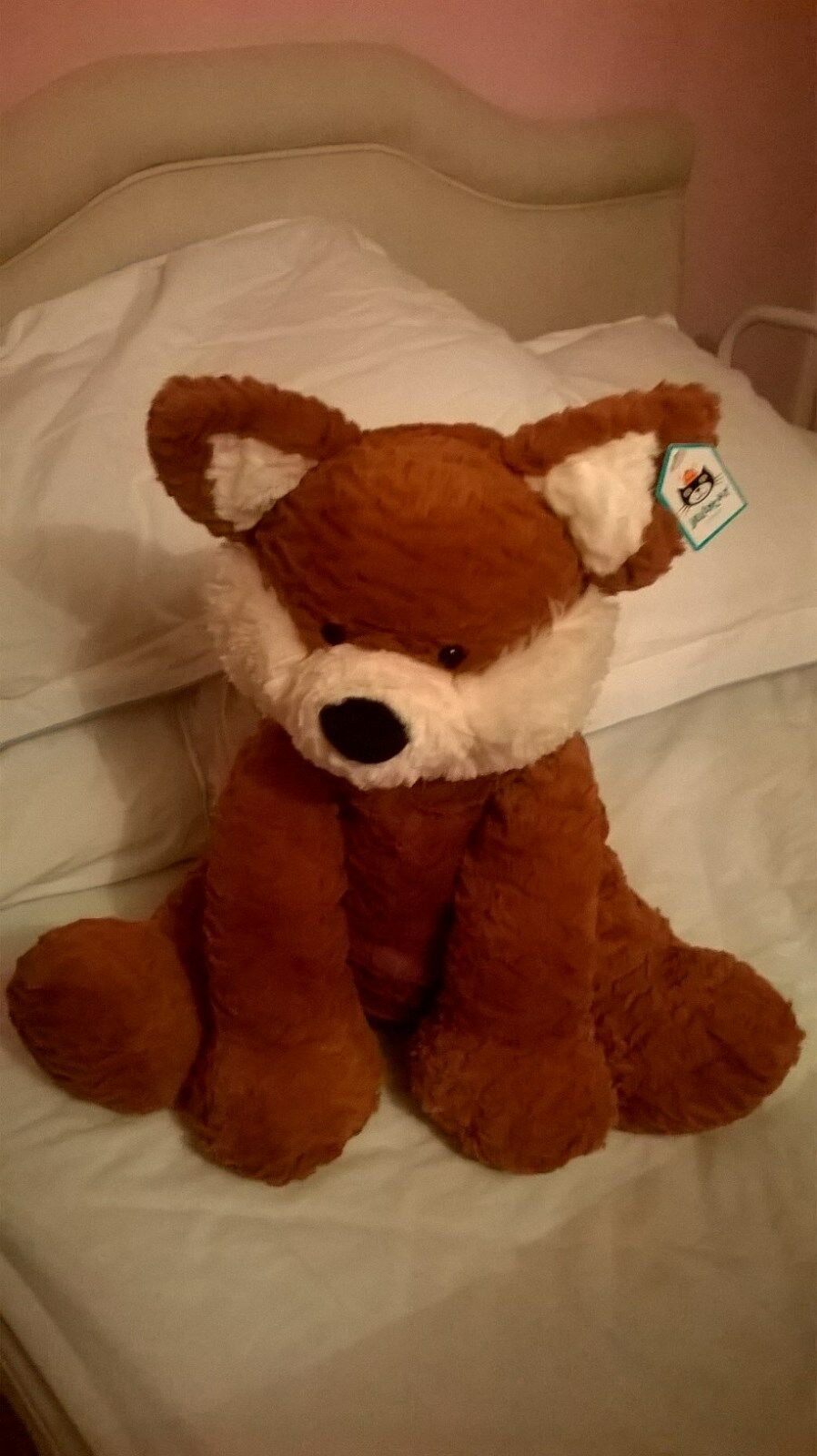 Huge Fuddlewuddle Fox soft toy by Jellycat - 44cm high -  Brand New with Tag