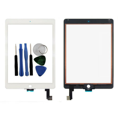 For Apple iPad Air 2 Touch Screen Digitizer Glass White 6 Gen A1566 A1567 Tools