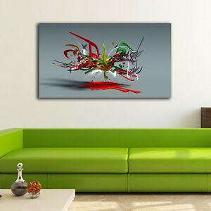 50-90-3cm-Graffiti-Art-Canvas-Print-Framed-Wall-Art-Home-Decor-Gift-Painting-III