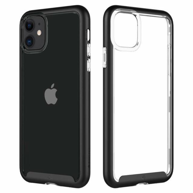 Caseology Skyfall Cover iPhone 11 Trasparente paraurti Nero ...