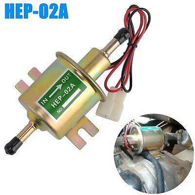12V Bassa Pressione Universale Elettrico Pompa Carburante in Linea Benzina Diesel Gas HEP-02A