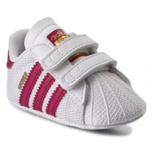 4d1a364a6b5de Image is loading Adidas-Originals-Superstar-Crib-Shoes-Baby-Infant-Girls-